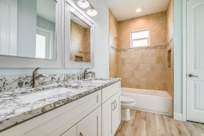 Aston Home Model Bathroom