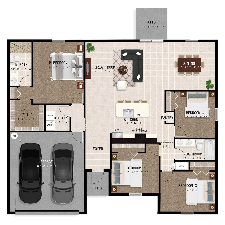 Biltmore Model Updated Floorplan