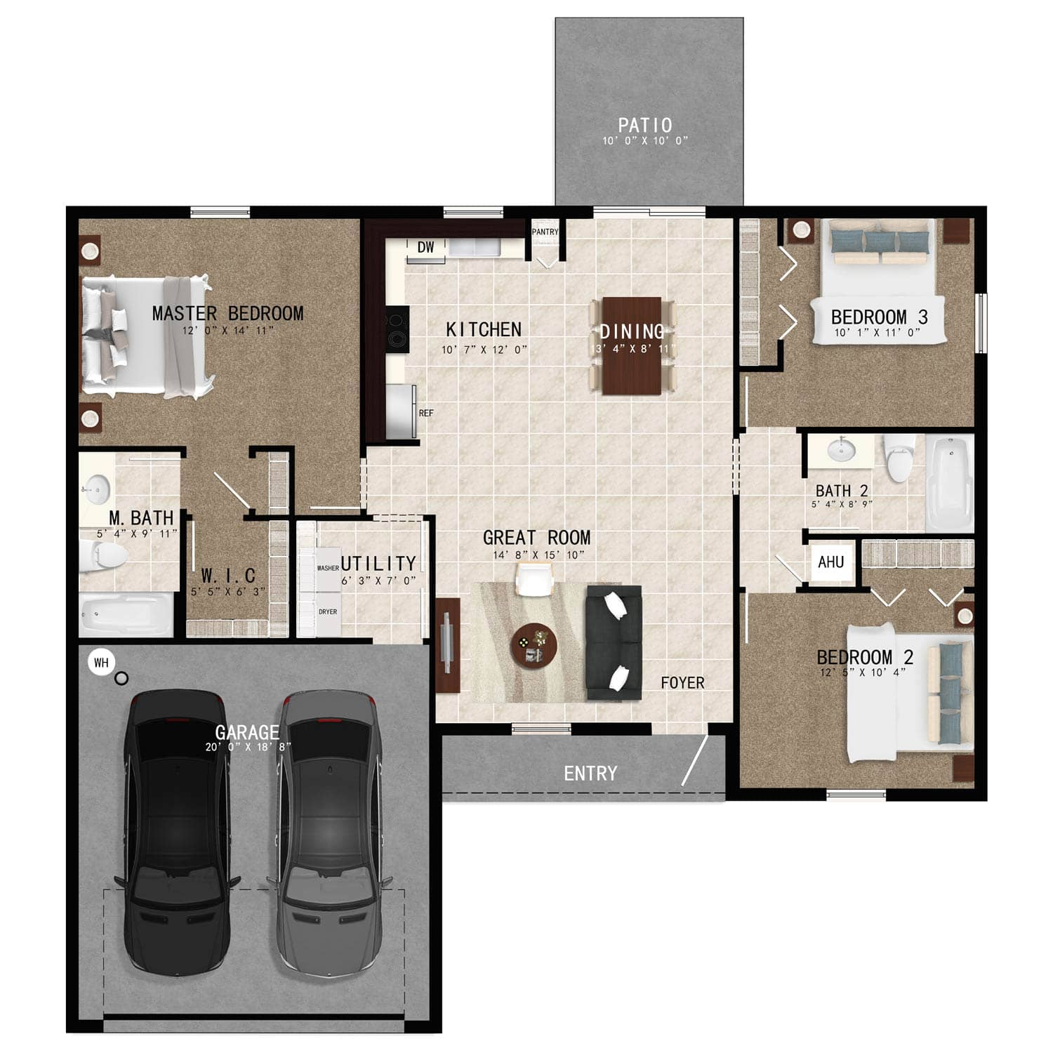 Bristol Model Updated Floorplan