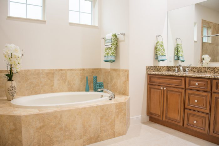 Synergy Homes Bellaire II Master Bathroom