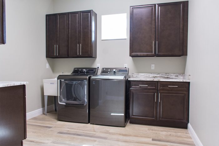 Synergy Homes Bellaire Laundry Room