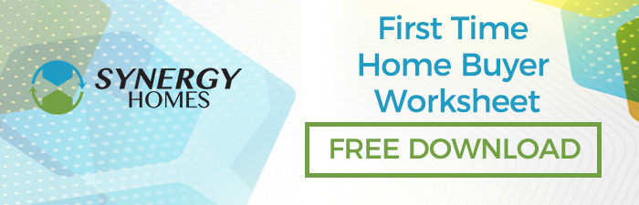 First Time Home Buyer Worksheet | Free Download | Synergy Homes of Florida