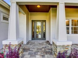 Synergy Model Home Entrance