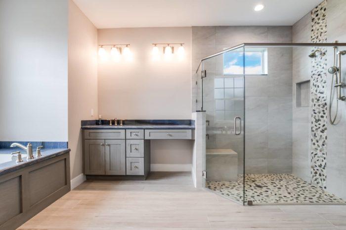 Synergy Homes Winston Model Bathroom